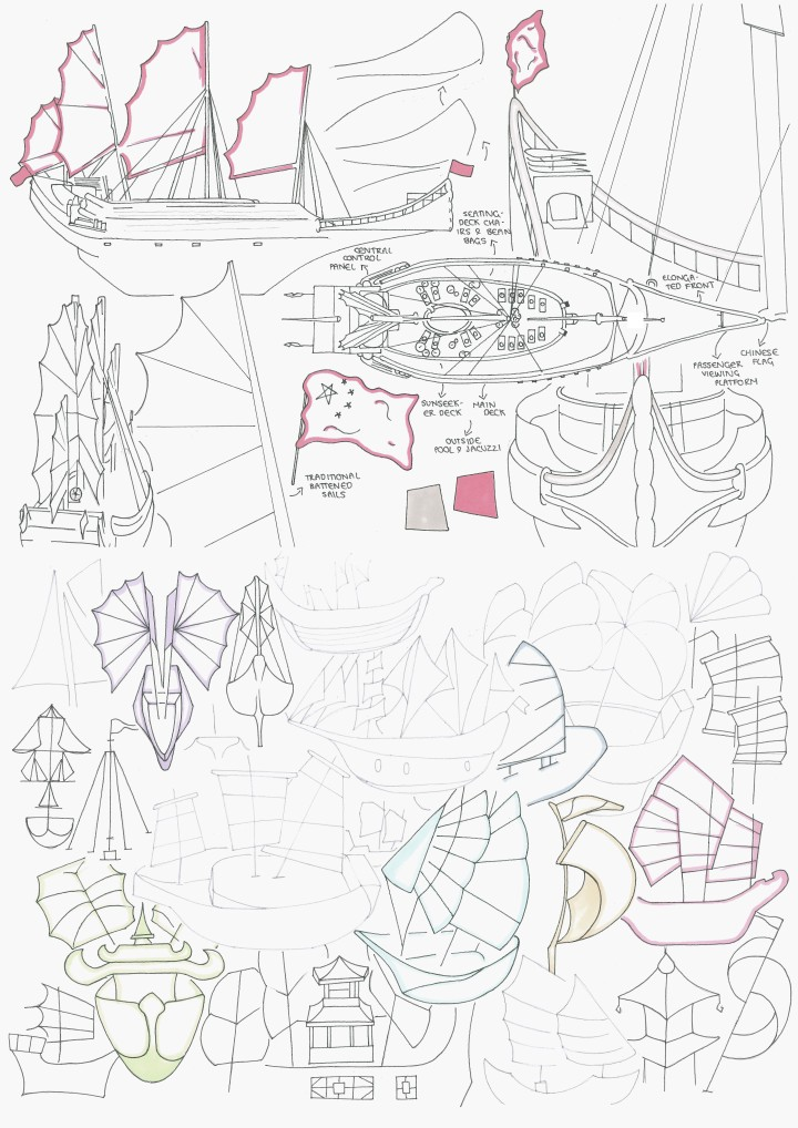 Drawn Boat Ideation 2